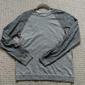 Gray, lightweight sweatshirt